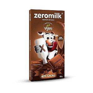 CHOCOLATE SEM LEITE 80G ZEROMILK