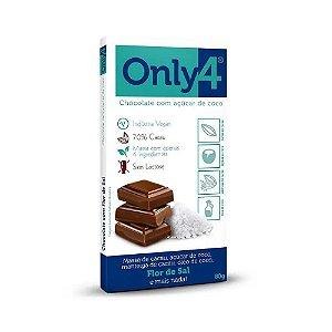 CHOCOLATE 70  FLOR DO SAL 80G ONLY4