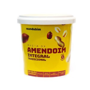 PASTA DE AMENDOIM INTEGRAL 1K MANDUBIM