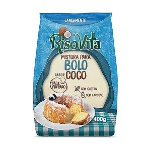 MISTURA BOLO COCO 400G RISOVITA