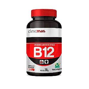 VITAMINA B12 60 CÁPSULAS 500MG CLINICMAIS
