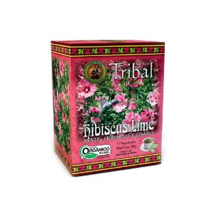 CHÁ HIBISCUS LIME 30 SACHÊS TRIBAL BRASIL