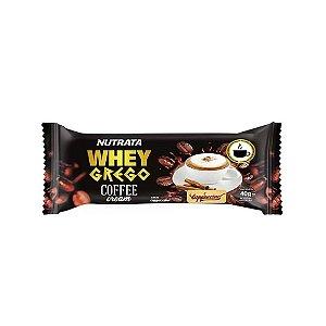 BARRA WHEY GREGO COFFEE CAPPUCCINO 40G NUTRATA