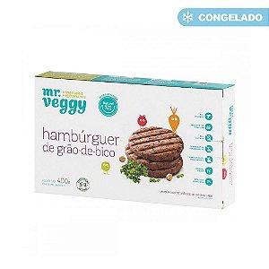 HAMBURGUER GRAO DE BICO 400GR MR VEGGY