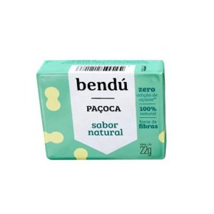 PAÇOCA NATURAL 22G BENDU