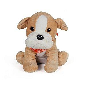 Pelúcia Térmica para Alívio das Cólicas e Aconchego com Aroma Calmante Bulldog - Cozy Plush