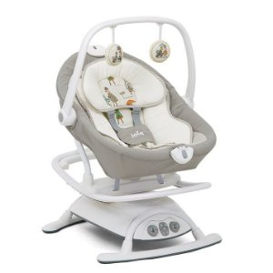 Cadeira de Descanso para Bebê Automática Bouncer Sansa Cinza In The Rain - Joie
