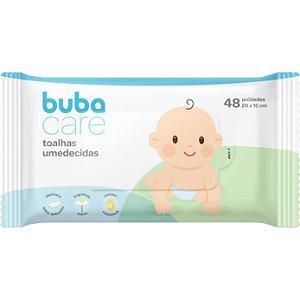 Toalhas Umedecidas Baby 48 Unidades - Buba