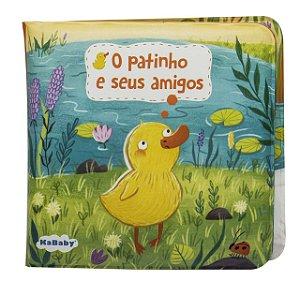 Livro de Banho Magic Color Patinho Amarelo - Kababy