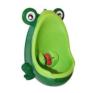 Mictório Infantil Sapinho Penico Portátil Verde - Clingo