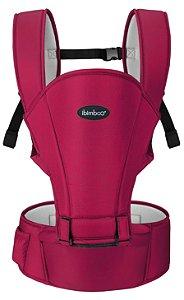 Canguru para Bebê Básico Avançado 5 em 1 Rosa Escuro - Ibimboo