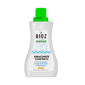Amaciante Conforto Natural e Hipoalergênico 450ml - Bioz Green