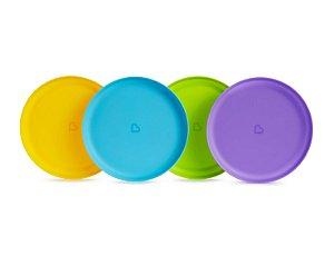 Conjunto de Pratos Coloridos - Munchkin
