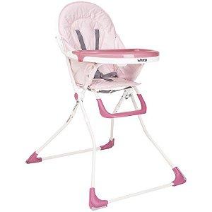 Cadeira de Alimentação Vectra Plus Rosa - Kiddo