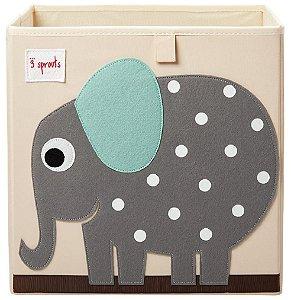 Organizador Infantil Quadrado Elefante - 3 Sprouts