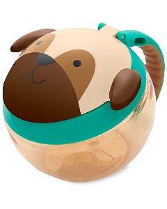 Porta Lanche ZOO Cachorro Pug - Skip Hop