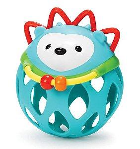 Roll Around Porco Espinho - Chocalho Mordedor - Prêmio de Melhor Brinquedo para Bebê - Skip Hop