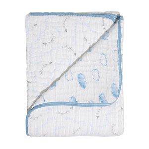 Cobertor Soft Bamboo Mami Avião de Papel - Papi Baby