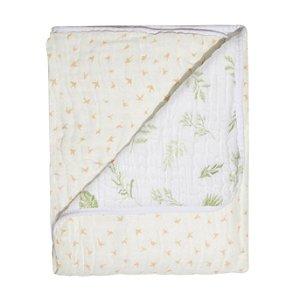 Cobertor Soft Bamboo Mami Silhueta Passaros - Papi Baby