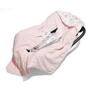 Manta para Bebê Conforto e Carrinho Mami com Capuz Primavera - Papi Baby