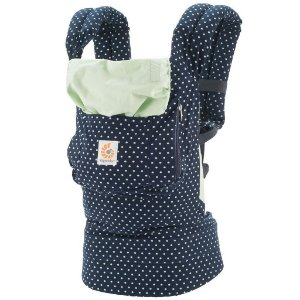 Canguru Ergobaby Coleção Original - O Melhor Baby Carrier para o seu Bebê - Mints Dots