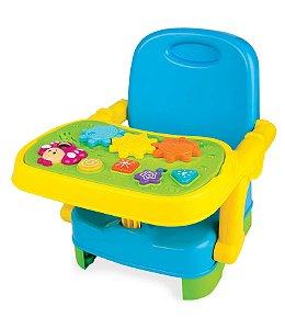 Cadeira Infantil Portátil com Mesa Musical e Atividades Yes Toys - Winfun