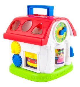 Casinha de Atividades Encaixe as Formas Yes Toys - Winfun