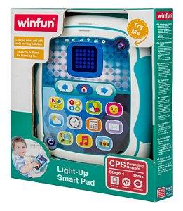 Brinquedo Tablet Interativo Inteligente Bilíngue Yes Toys - Winfun