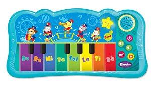 Teclado Musical Infantil com Banda Do Re Mi Yes Toys - Winfun