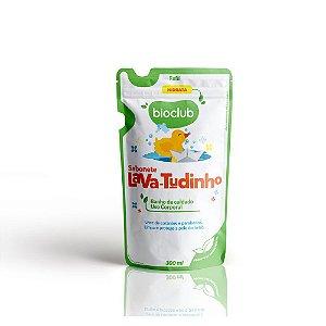 Refil Sabonete Líquido para Bebê Lava Tudinho 300ml - Bioclub Baby