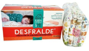 DESFRALDE - Protetor Descartável para Colchão Super Absorvente (04 unidades) - Baby & Me