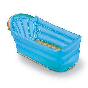 Banheira Inflável BATH BUDDY Azul - Multikids Baby