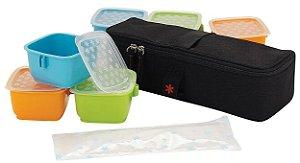 Conjunto de Potes com Embalagem Térmica Clix Mealtime - Skip Hop