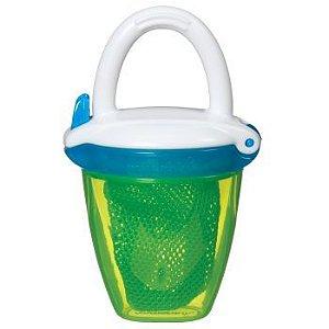 Alimentador para Bebês com Redinha e Tampa Azul e Verde - Munchkin