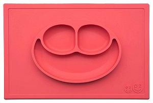 Jogo Americano com Prato Acoplado Happy Mat Coral - EZPZ