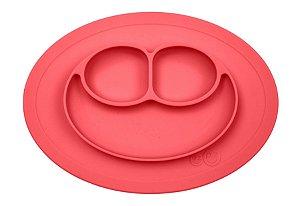 Jogo Americano com Prato Acoplado Mini Happy Mat Coral - EZPZ