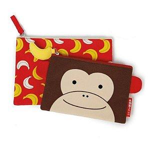 Kit Necessaire Infantil ZOO Macaco - Skip Hop