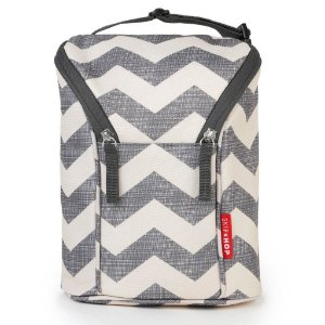 Bolsa Térmica para Mamadeira - Double Bottle Bag (On the Go) Chevron - Skip Hop