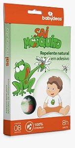 SAI MOSQUITO! - Repelente Adesivo Natural - Babydeas