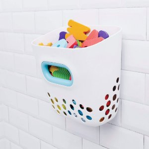 Porta Brinquedos de Banho - Organiza e Mantém Seco os Brinquedos - Oxo Tot