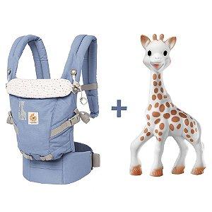 Canguru Ergobaby Adapt Sophie La Girafe + Mordedor Girafa Sophie Vulli - SUPER COMBO ESPECIAL