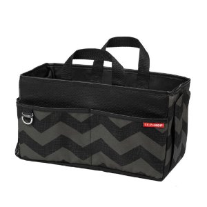 Bolsa Organizadora para Banco de Carro Storage Box (On The Go Drive) Chevron - Skip Hop