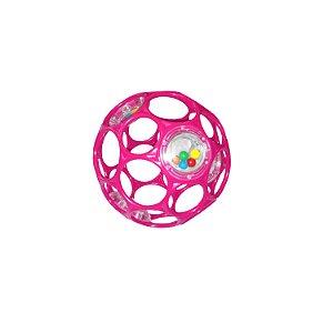 Bola Oball Gelatina com Mini Chocalhos Pink - Bright Stars