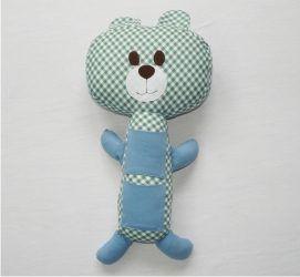 Almofada para Cinto de Segurança Urso Azul - Colo de Mãe
