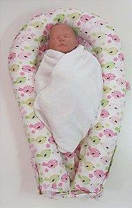 Ninho U-Baby Redutor de Berço Passarinhos - Colo de Mãe