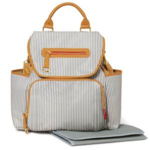 Bolsa Maternidade Grand Central BackPack (Mochila) French Stripe - Skip Hop