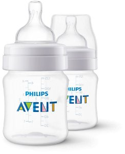 Kit Mamadeira Avent Clássica Anti-Cólica 125ml 0+ Meses 02 unidades - Philips Avent