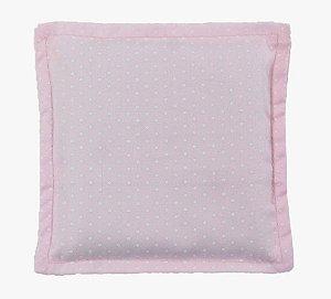 Almofada Térmica de Ervas Naturais para Alívio das Cólicas e Gases Poá Rosa - Bebê sem Cólica