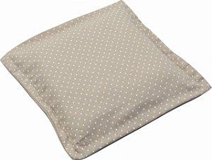 Almofada Térmica de Ervas Naturais para Alívio das Cólicas e Gases Poá Bege - Bebê sem Cólica