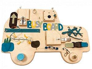 Busy Board Carrinho - Painel de Atividades para Bebês - Baby & Me
